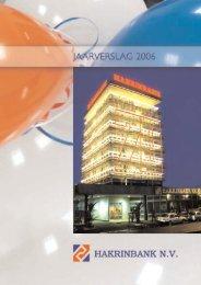 Jaarverslag 2006 - Hakrinbank