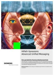 HiPath Xpressions - Hakom IP communications, Inhaber Alexander ...