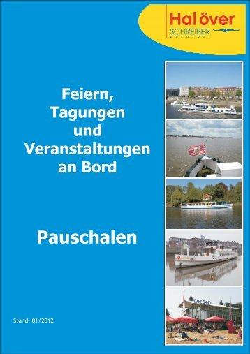 Catering 2012 Pauschalen.cdr - Hal över