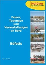 Catering Schiffe Büfetts 2012... - Hal över