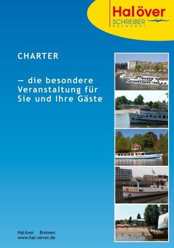 Preisliste Charter und Catering - Hal över