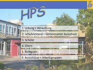 Organigramm - Halepaghen-Schule