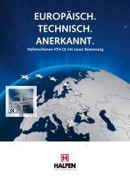 HTA-CE_ETA – Europäisch, Technisch, Anerkannt - Halfen