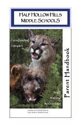 Middle School Parent Handbook 09-10.pub - Half Hollow Hills