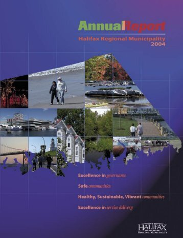 Annual Report 2004 - Halifax Regional Municipality