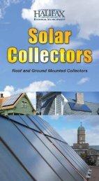 Solar Collectors - Halifax Regional Municipality