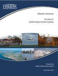 Atlantic Gateway Halifax Logistics Park - Halifax Regional Municipality