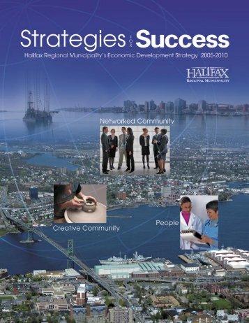Halifax Economic Development Strategy - NWTOpportunities.com