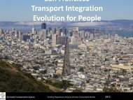 San Francisco Transport Integration Evolution for People - Halifax ...