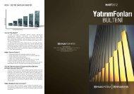 2012 Nisan Yatırım Fonları Bülteni - Türkiye Halk Bankası