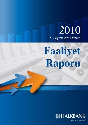 2. Çeyrek Ara Dönem - Türkiye Halk Bankası