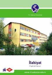 İlahiyat Fakültesi - Sakarya Üniversitesi