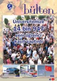 Ağustos 08 - Sakarya Üniversitesi