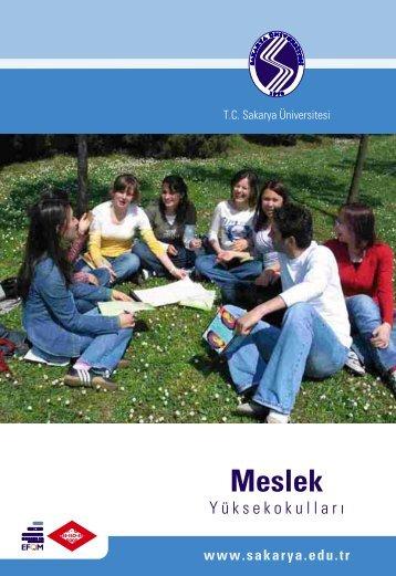 Meslek Yüksekokulları - Sakarya Üniversitesi