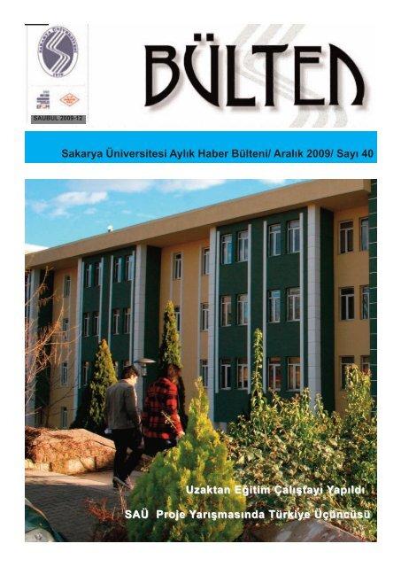 Aralık 09 - Sakarya Üniversitesi
