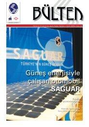 Güneş enerjisiyle çalışan otomobil SAGUAR - Sakarya Üniversitesi