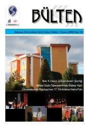 Kasım 09 - Sakarya Üniversitesi