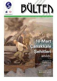 18 Mart Çanakkale Şehitleri - Sakarya Üniversitesi