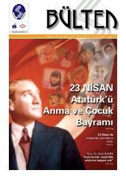 23 NİSAN Atatürk'ü Anma ve Çocuk Bayramı - Sakarya Üniversitesi