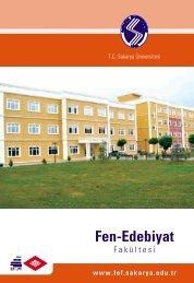 Fen-Edebiyat Fakültesi - Sakarya Üniversitesi