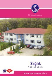 Sağlık Yüksekokulu - Sakarya Üniversitesi