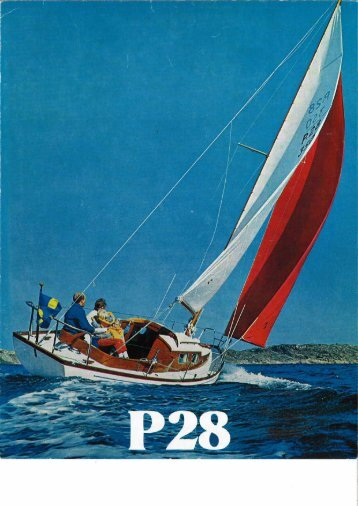 P 28 färgbroschyr - Hallberg-Rassy