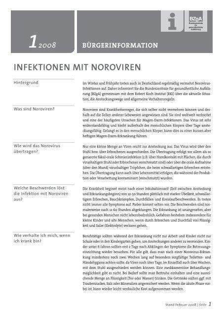 magen darm immer norovirus