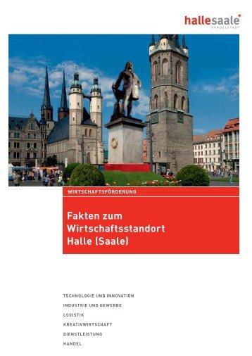 Fakten zum Wirtschaftsstandort Halle (Saale), 2012 - Stadt Halle ...