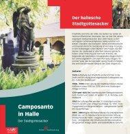 Camposanto in Halle - Stadt Halle (Saale)