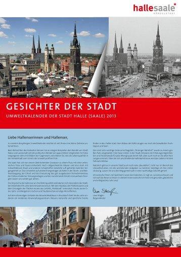 Umweltkalender 2013 - Stadt Halle (Saale)