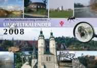 Umweltkalender 2008 - Stadt Halle (Saale)