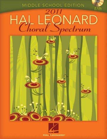 featuring - Hal Leonard