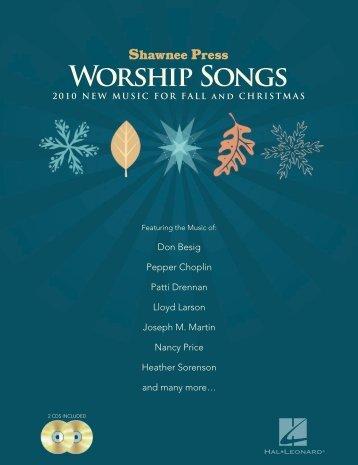 Worship Songs ngs - Hal Leonard