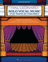 Classical & Contest Solos - Hal Leonard