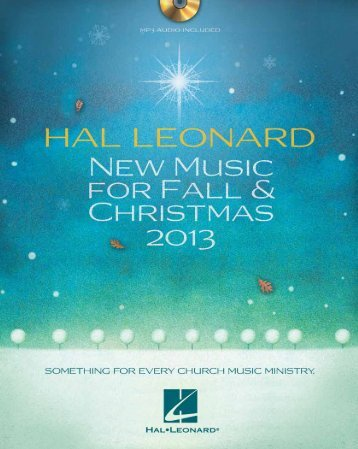 Click to download and print booklet - Hal Leonard