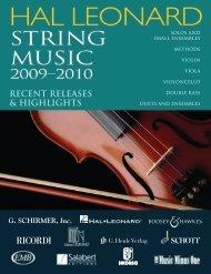 violin - Hal Leonard