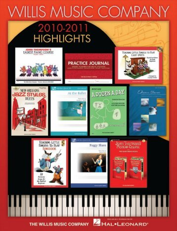 Willis Music coMpany - Hal Leonard