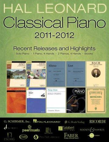 Classical Piano - Hal Leonard