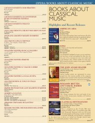 books about classical music - Hal Leonard