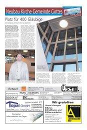 Neubau Kirche Gemeinde Gottes - Haller Industriebau GmbH