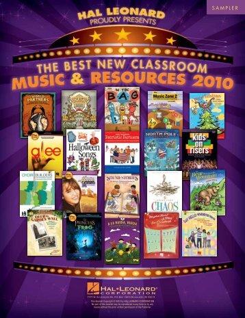 musicals - Hal Leonard