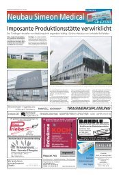 Neubau Simeon Medical - Haller Industriebau GmbH