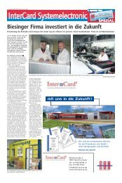 Biesinger Firma investiert in die Zukunft - Haller Industriebau GmbH
