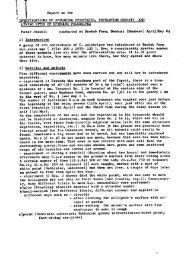 Report on the GATIONSOF SPNEADING STNA POPUI,ATIO ... - Haller