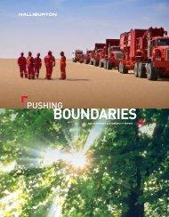 2009 Corporate Sustainability Report - Halliburton