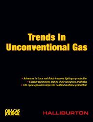 Trends In Unconventional Gas - Halliburton
