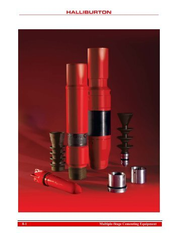 Casing Equipment Catalog Sec 8_Multi-Stage ... - Halliburton