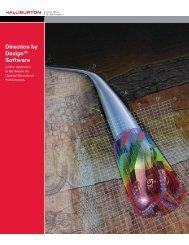 Direction by Design™ Software - Halliburton