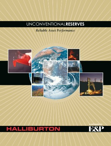 Unconventional Reserves - Halliburton