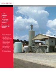 Baroid Southern Region - Halliburton